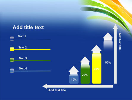 Green and Yellow Touch PowerPoint Template Slide 8
