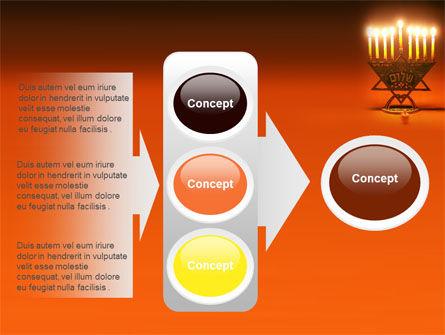 Menorah PowerPoint Template Slide 11