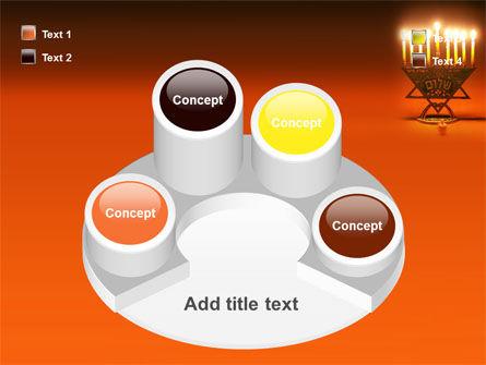 Menorah PowerPoint Template Slide 12