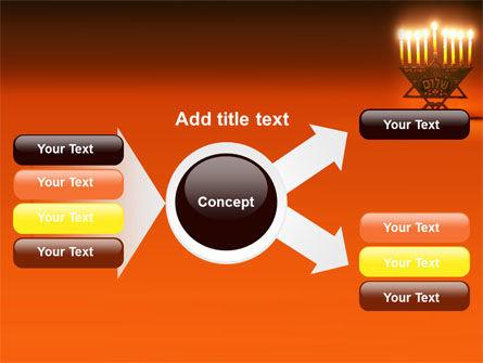 Menorah PowerPoint Template Slide 14