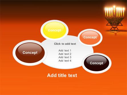 Menorah PowerPoint Template Slide 16