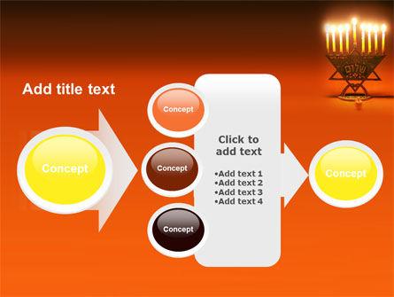 Menorah PowerPoint Template Slide 17