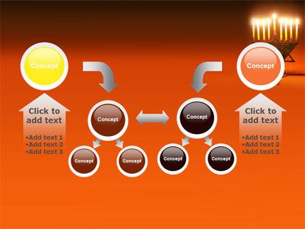 Menorah PowerPoint Template Slide 19