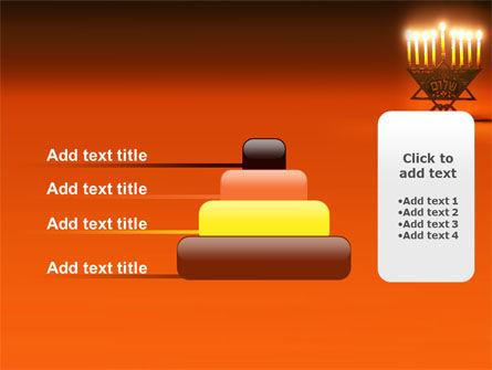 Menorah PowerPoint Template Slide 8