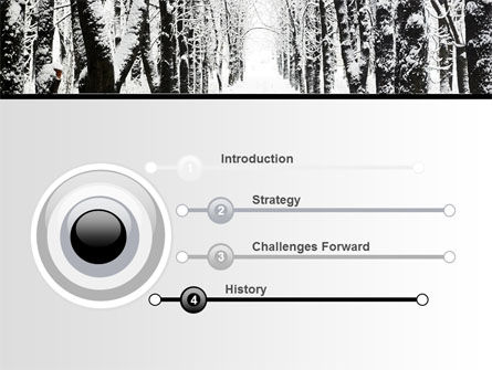 Winter Alley PowerPoint Template, Slide 3, 06792, Nature & Environment — PoweredTemplate.com