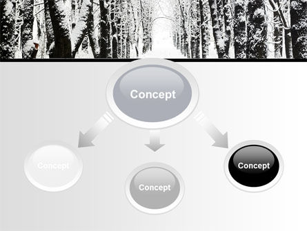 Winter Alley PowerPoint Template, Slide 4, 06792, Nature & Environment — PoweredTemplate.com