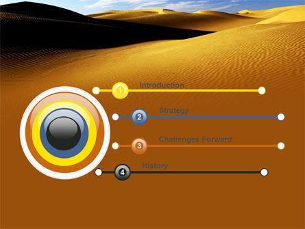 Sand Dune PowerPoint Template, Slide 3, 06793, Nature & Environment — PoweredTemplate.com
