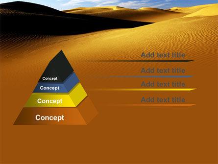 Sand Dune PowerPoint Template, Slide 4, 06793, Nature & Environment — PoweredTemplate.com