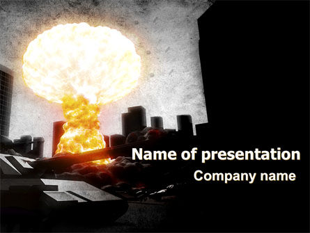 Post-Apocalypse PowerPoint Template, 06794, Nature & Environment — PoweredTemplate.com