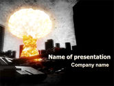 Nature & Environment: Modello PowerPoint - Post-apocalypse #06794