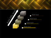 Woven Fabric PowerPoint Template#14