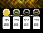 Woven Fabric PowerPoint Template#5
