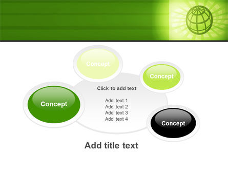 Olive Globe PowerPoint Template Slide 16