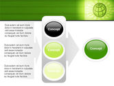 Olive Globe PowerPoint Template#11