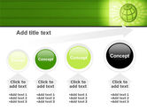 Olive Globe PowerPoint Template#13