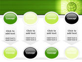 Olive Globe PowerPoint Template#18