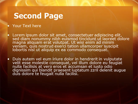 Abstract Fireworks PowerPoint Template, Slide 2, 06801, Technology and Science — PoweredTemplate.com