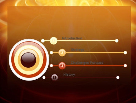 Abstract Fireworks PowerPoint Template, Slide 3, 06801, Technology and Science — PoweredTemplate.com