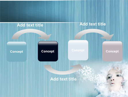 Winter Breeze PowerPoint Template, Slide 4, 06802, Nature & Environment — PoweredTemplate.com