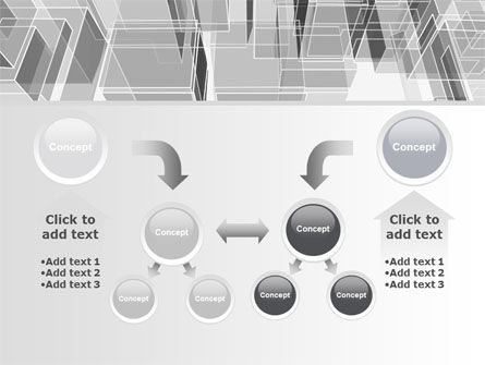 Abstract Architecture PowerPoint Template Slide 19