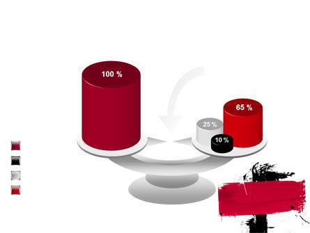 Red Stroke PowerPoint Template Slide 10