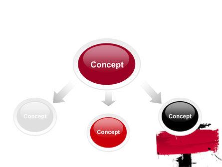 Red Stroke PowerPoint Template Slide 4