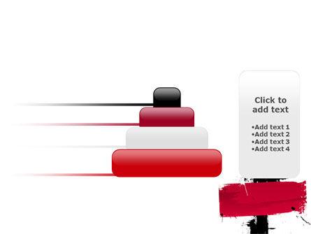 Red Stroke PowerPoint Template Slide 8