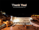 The Wailing Wall PowerPoint Template#20