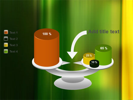 Green and Yellow Theme PowerPoint Template Slide 10
