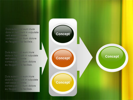 Green and Yellow Theme PowerPoint Template Slide 11