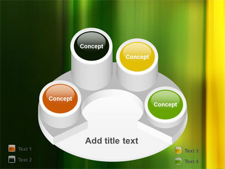 Green and Yellow Theme PowerPoint Template Slide 12