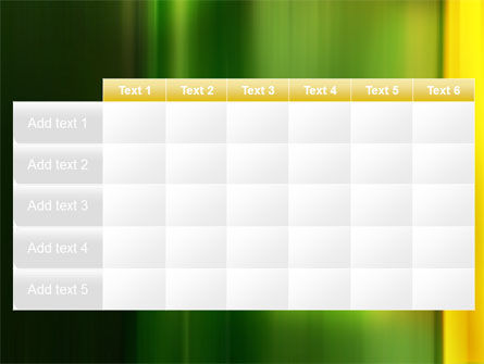 Green and Yellow Theme PowerPoint Template Slide 15