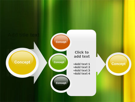 Green and Yellow Theme PowerPoint Template Slide 17