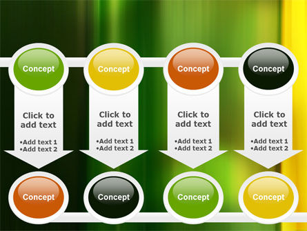 Green and Yellow Theme PowerPoint Template Slide 18