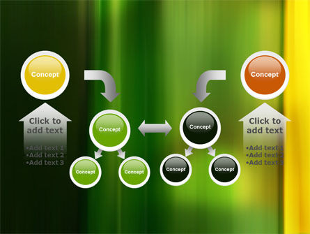 Green and Yellow Theme PowerPoint Template Slide 19