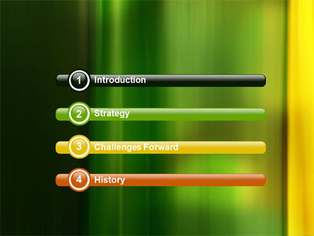 Green and Yellow Theme PowerPoint Template Slide 3