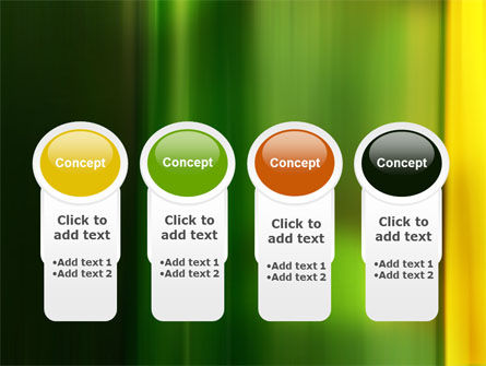 Green and Yellow Theme PowerPoint Template Slide 5
