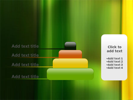 Green and Yellow Theme PowerPoint Template Slide 8