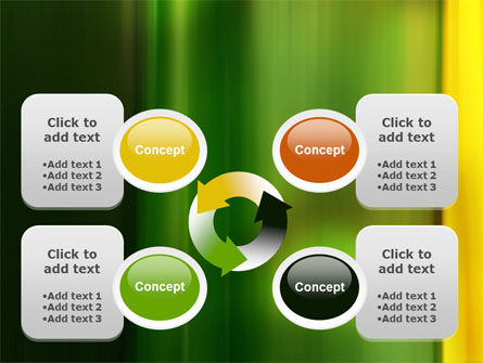 Green and Yellow Theme PowerPoint Template Slide 9