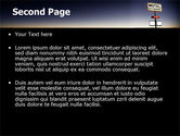 Motel Sign PowerPoint Template#2