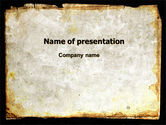 Abstract/Textures: Rusty Background PowerPoint Template #06808