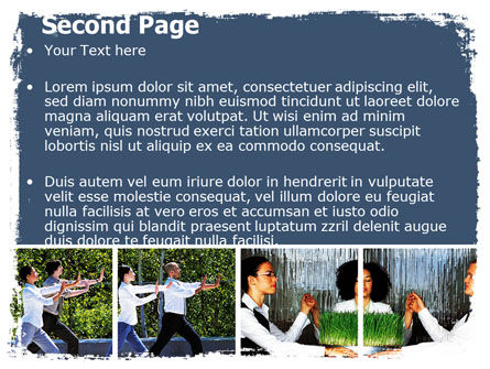 Oriental Medicine PowerPoint Template Slide 2