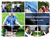 Religious/Spiritual: Oriental Medicine PowerPoint Template #06809