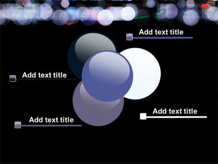 Bokeh Effect PowerPoint Template Slide 10