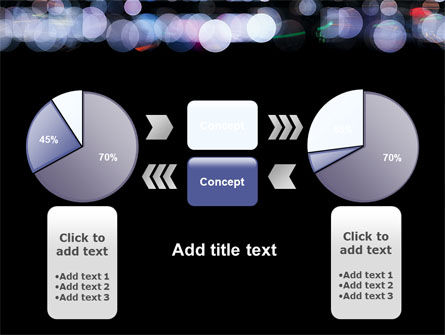 Bokeh Effect PowerPoint Template Slide 11