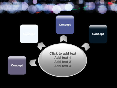 Bokeh Effect PowerPoint Template Slide 7