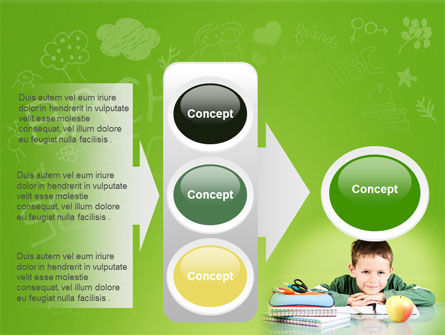 Home Classes PowerPoint Template Slide 11