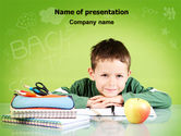 Education & Training: Home Classes PowerPoint Template #06813