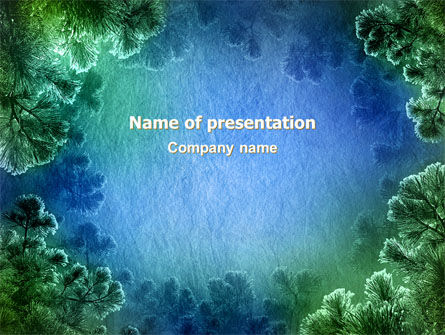 Fir Frame PowerPoint Template