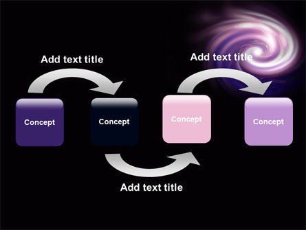Purple Vortex PowerPoint Template Slide 4